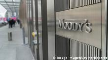 USA Moody's Corporation; Zentrale in New York im World Trade Center 7