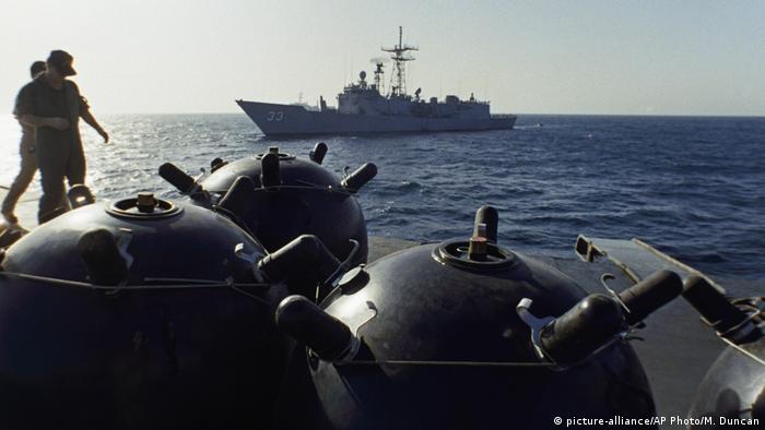 Iran 1987 | Minen auf Kriegsschiff Iran Ajr