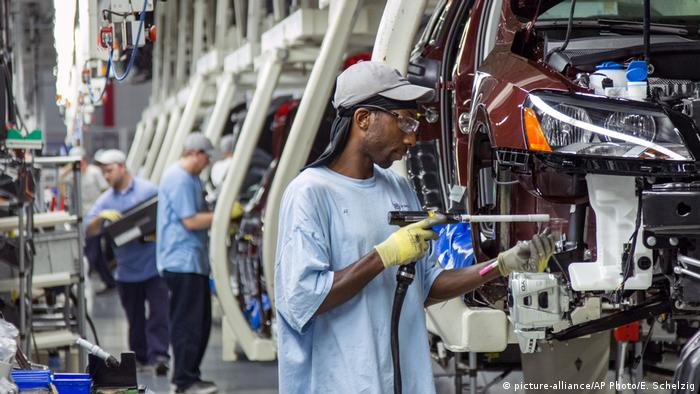 USA Tennessee | Angestellte bei VW in Chattanooga