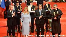 Slowakei Amtseinführung der neuen Präsidentin Zuzana Caputova