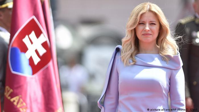 New Slovak President Zuzana Caputova