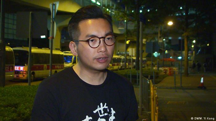 Hong Kong | Alvin Yeung Pro-Democracy Abgeordneter und Parteiführer der Civic Party