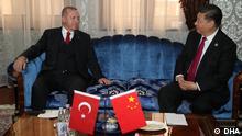 Erdogan und Jinping im Gespräch