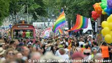 Rainbow Parade engulfs Vienna