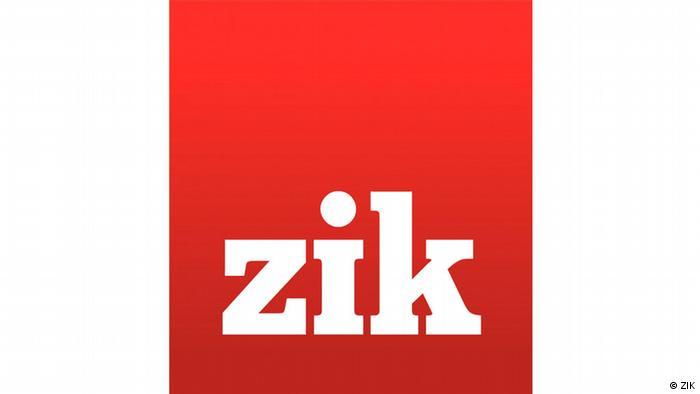 Logo des ukrainischen TV-Senders ZIK