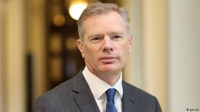 Iran Rob Macaire, Britischer Botschafter in Teheran (gov.uk)