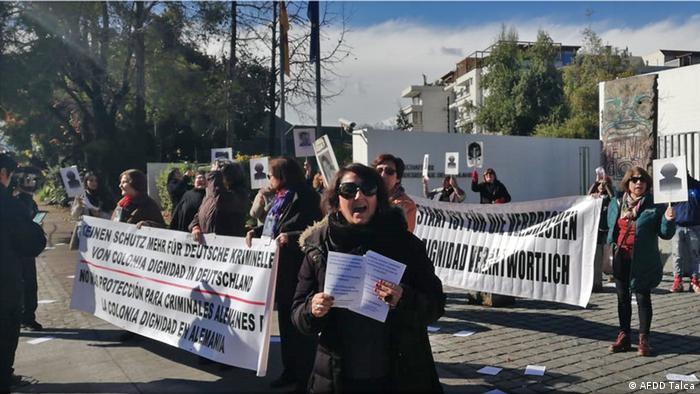 Chile Colonia Dignidad Opfer Protest