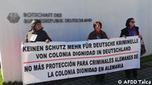 Chile Colonia Dignidad Opfer Protest (AFDD Talca)