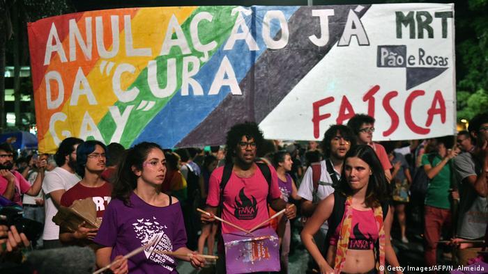 Brasilien Proteste gegen Konversionstherapie