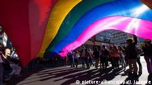Ecuador Gay Pride Parade in Quito