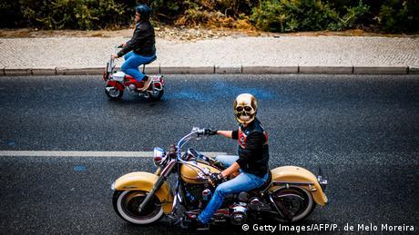 BdTD Portugal Harley Davidson Treffen (Getty Images/AFP/P. de Melo Moreira)