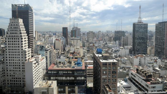 Panorama de la ciudad de Buenos Aires, Argentina.