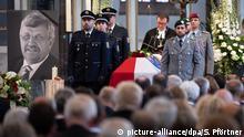 Deutschland Trauerfeier für Walter Lübcke, Kasseler Regierungspräsident