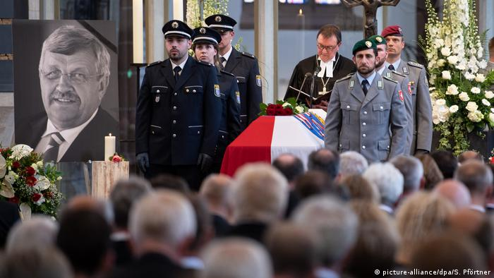 The funeral service of Walter Lübcke