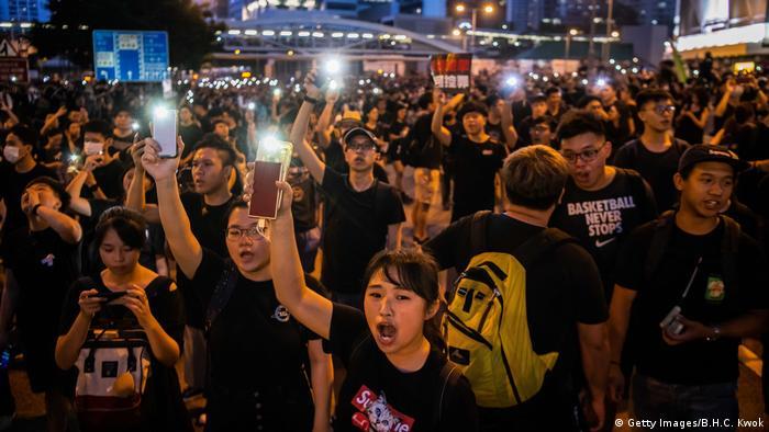 Hongkong Massenproteste gegen Regierung