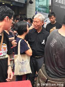 Hongkong Massenproteste gegen Regierung (DW/William Yang)