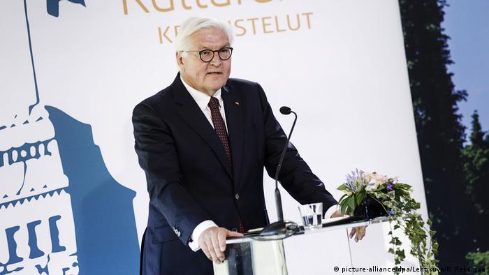 Президент ФРГ Франк-Вальтер Штайнмайер в Финляндии