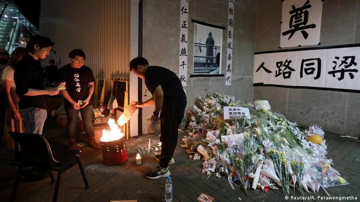 Hongkong Massenproteste gegen Regierung (Reuters/A. Perawongmetha)