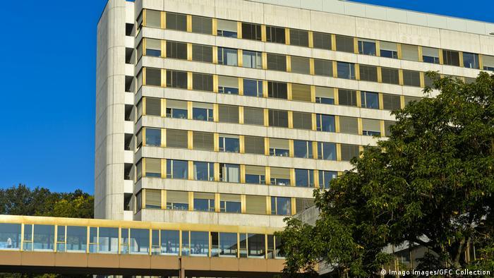 Sede de UNCTAD, en Ginebra, Suiza.