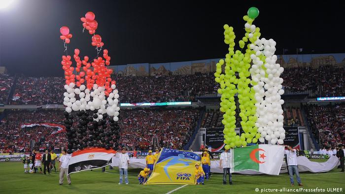 Fußball-WM 2010 - Qualifikation: Ägypten - Algerien (picture-alliance/Pressefoto ULMER)