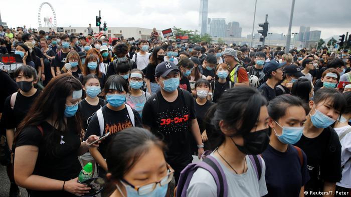La situación en Hong Kong puede tener importantes efectos sobre Bitcoin. Fuente: Reuters