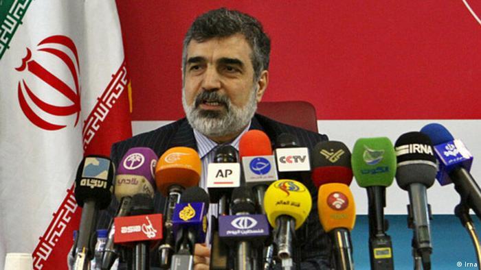 Kamalwandi, Iran Atom Behörde Sprecher (Irna)