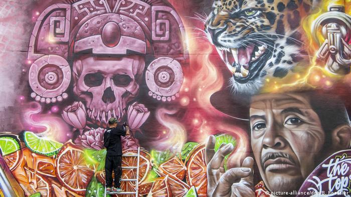 BdT Deutschland Graffiti-Kunst Meeting of Styles (picture-alliance/dpa/B. Roessler)