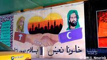 Bagdad Graffiti Versöhnung Schiiten Christen