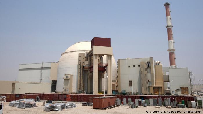 Атомная электростанция в иранском Бушере