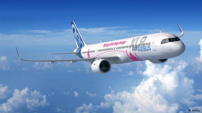 Пассажирский самолет Airbus A321XLR