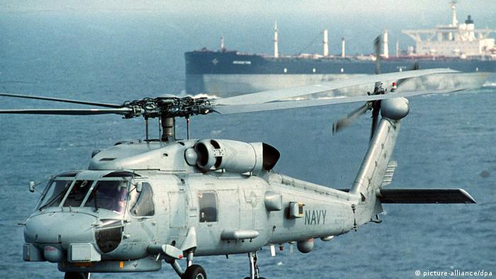 در ۲۴ ژوئیه ۱۹۸۷ سوپرتانکر آمریکایی اساس بریجتون با مینهای دریایی در نزدیکی جزیره فارسی در خلیج فارس برخورد کرد و آسیب دید. این کشتی در جریان سفری دریایی در نخستین کاروان عملیات اراده جدی بود. این عملیات توسط ارتش آمریکا برای حفاظت از نفتکشهای کویتی از حمله ایران طراحی شده بود.