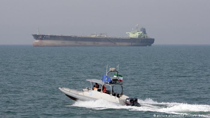 BG Geschichte Iran USA Konflikte Schnellboot der Iranischen Revolutionsgarden