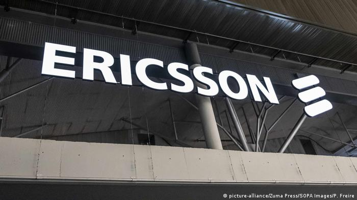 MWC2019 Mobile World Congress Barcelona, Spanien | Logo von Ericsson (picture-alliance/Zuma Press/SOPA Images/P. Freire)