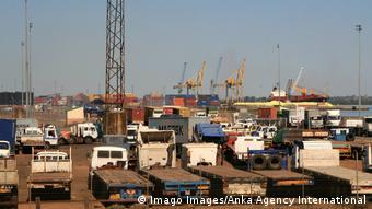 Mosambik Maputo | Hafen, Container