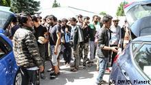 Migranten Krise Bosnien Flüchtlinge