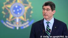 Joaquim Levy, presidente del BNDES (Getty Images/AFP/E. Sa)