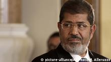 Mohammed Mursi ehemaliger ägyptischer Präsident