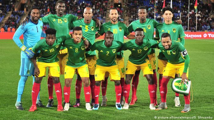 Fußball Nationalspieler Mannschaft Mauretanien (picture-alliance/empics/S. Shivambu)