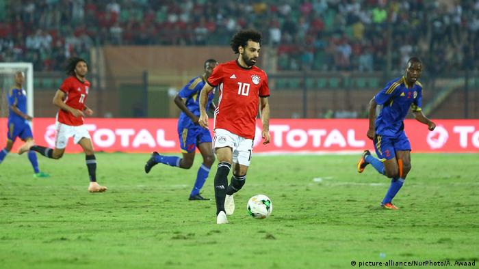 Fußball Nationalspieler Mohamed Salah (picture-alliance/NurPhoto/A. Awaad)