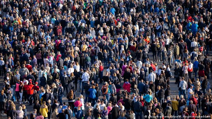 Symbolbild Bevölkerungswachstum