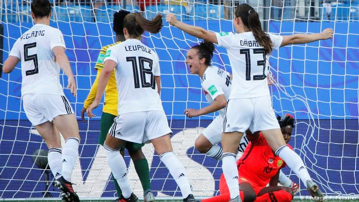 FIFA Women's World Cup: Germany find their shooting boots just before the knockouts
