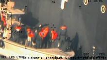 Persischer Golf US HAndout Revolutionsgarden Haft-Mine