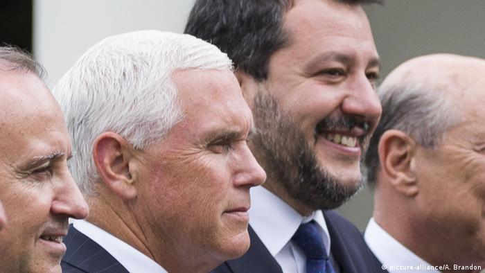 Mike Pence, Matteo Salvini