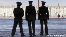 Polizei in Sankt Petersburg