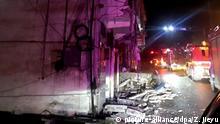 China - Erdbeben der Stärke 6,0 trifft Sichuan