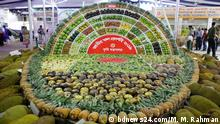 The three-day national fruit fair began in Dhaka on Sunday aiming at showcasing different varieties of seasonal fruits.