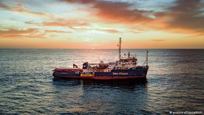 Sea-Watch 3 rescue vessel
