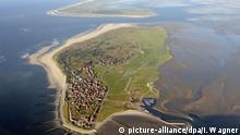 Baltrum Luftaufnahme