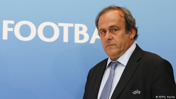 Экс-президент УЕФА Мишель Платини (фото из архива)
