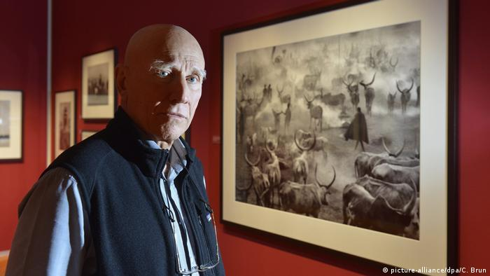 Brazilian photographer Sebastiao Salgado wins German book trade Peace Prize